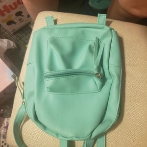 Handbags - Little faux leather bookbag purse